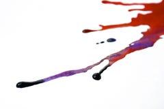 Gocce colorate Fotografie Stock Libere da Diritti