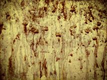 Gocce del sangue sulla parete immagine stock libera da diritti