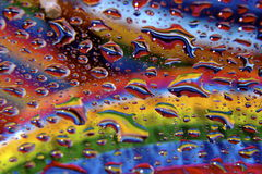 Gocce dell'acqua Fotografia Stock Libera da Diritti