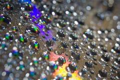 Gocce dell'acqua Fotografie Stock Libere da Diritti
