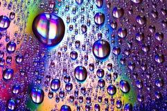 Gocce dell'acqua Immagini Stock