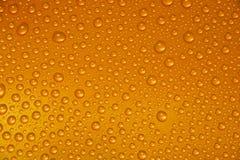 Gocce dell'acqua su vetro Fotografie Stock