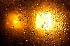 Gocce dell'oro Fotografie Stock
