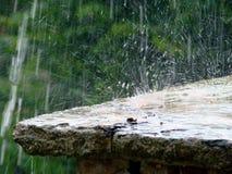 Gocce della pioggia Fotografie Stock