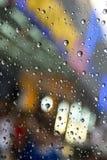 Gocce della pioggia Immagini Stock