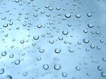 Gocce della pioggia Immagine Stock