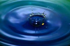 Gocce di acqua Arte Fotografia Stock