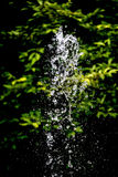 Gocce di acqua della fontana fotografie stock
