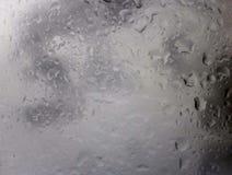 Gocce di acqua della pioggia Fotografia Stock