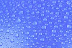Gocce di acqua fondo, immagine Immagini Stock Libere da Diritti