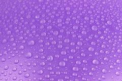 Gocce di acqua fondo, immagine Fotografia Stock