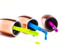 Gocce di colore Immagini Stock Libere da Diritti