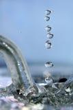 Gocce di cristallo Fotografia Stock Libera da Diritti