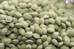 Gocce di menta verdi Immagini Stock