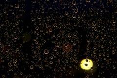 Gocce di notte Fotografie Stock Libere da Diritti