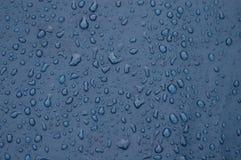 Gocce di pioggia Immagini Stock