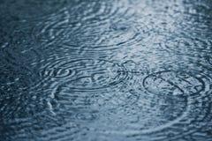 Gocce di pioggia Immagine Stock Libera da Diritti