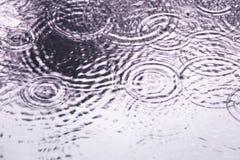Gocce di pioggia come blackground Fotografia Stock