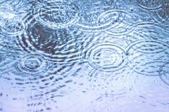 Gocce di pioggia come blackground Immagini Stock