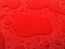 Gocce di pioggia sulla mia finestra Fotografia Stock Libera da Diritti