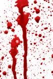 Gocce di sangue Fotografia Stock Libera da Diritti
