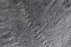 Gocce di superficie idrorepellente in bianco e nero Fotografia Stock