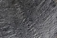 Gocce di superficie idrorepellente in bianco e nero Fotografie Stock Libere da Diritti
