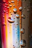 Gocce luminose Immagine Stock
