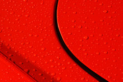 Gocce rosse Immagini Stock Libere da Diritti