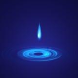 Goccia astratta di acqua illustrazione vettoriale
