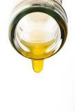 Goccia del succo d'arancia Fotografie Stock Libere da Diritti