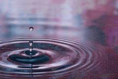 Goccia dell'acqua Fotografie Stock Libere da Diritti