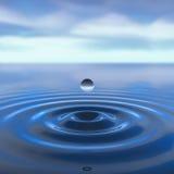 Goccia dell'acqua Immagine Stock Libera da Diritti