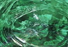 Goccia dell'acqua Immagini Stock