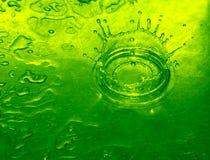Goccia dell'acqua di calce Immagine Stock