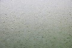 Goccia dell'acqua su vetro Fotografia Stock Libera da Diritti