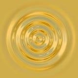 Goccia dell'oro Immagini Stock