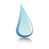 Goccia di acqua Fotografia Stock