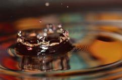 Goccia di acqua immagini stock