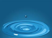 Goccia di acqua Fotografia Stock Libera da Diritti