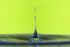 Goccia di acqua variopinta Fotografia Stock