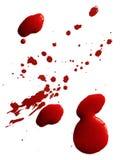 Goccia di anima rossa illustrazione vettoriale