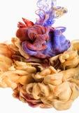 Goccia di colore Immagine Stock