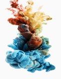 Goccia di colore Fotografie Stock