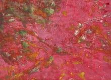 Gocciolamenti di vernice immagini stock