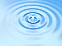 gocciolamento dell'acqua 3d Immagine Stock Libera da Diritti