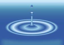 Gocciolina di acqua immagine stock libera da diritti