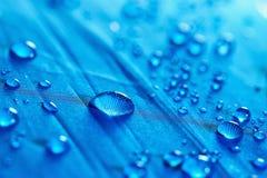 Goccioline dell'acqua piovana fotografia stock