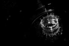 Goccioline di acqua Fotografia Stock Libera da Diritti