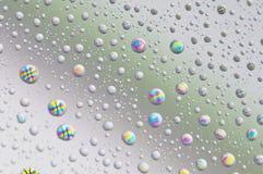 Goccioline sullo schermo Fotografia Stock